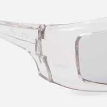 Солнцезащитные очки Rick Owens Rick Transparent Temple/Silver Lens фото- 2