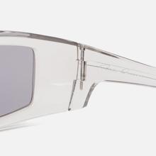 Солнцезащитные очки Rick Owens Rick Transparent Temple/Silver Lens фото- 3