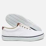 Мужские кеды Sperry Top-Sider CVO Canvas White фото- 2