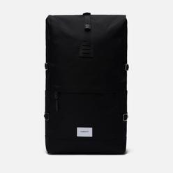 Рюкзак Sandqvist Bernt 20L Black/Black Leather