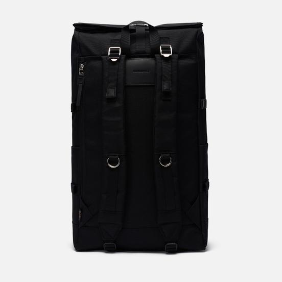 Рюкзак Sandqvist Bernt Black/Black Leather