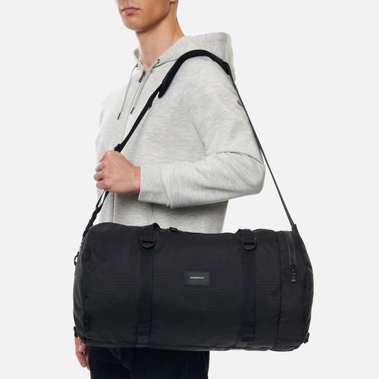 Дорожная сумка Sandqvist Hannes 30L Black