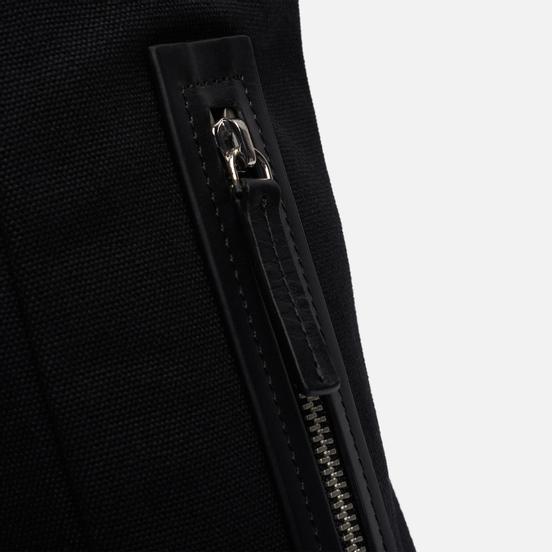 Рюкзак Sandqvist Alva Metal Hook 10L Black/Black Leather