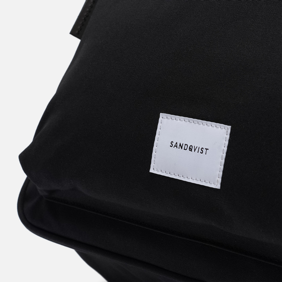 Сумка Sandqvist Emil 12L Black/Black Leather
