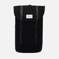 Рюкзак Sandqvist Stig 14L Black/Black Leather
