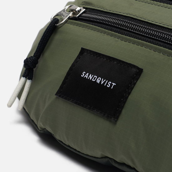 Сумка на пояс Sandqvist Aste Lightweight 3L Multi Dusty Green/Night Green