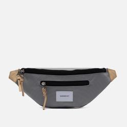 Сумка на пояс Sandqvist Aste 3L Grey/Natural Leather