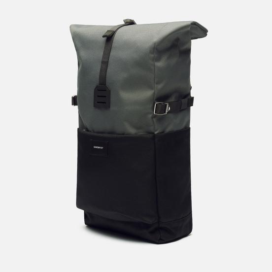 Рюкзак Sandqvist Ilon Dark Green/Natural Leather