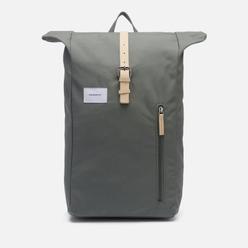 Рюкзак Sandqvist Dante Dusty Green/Natural Leather