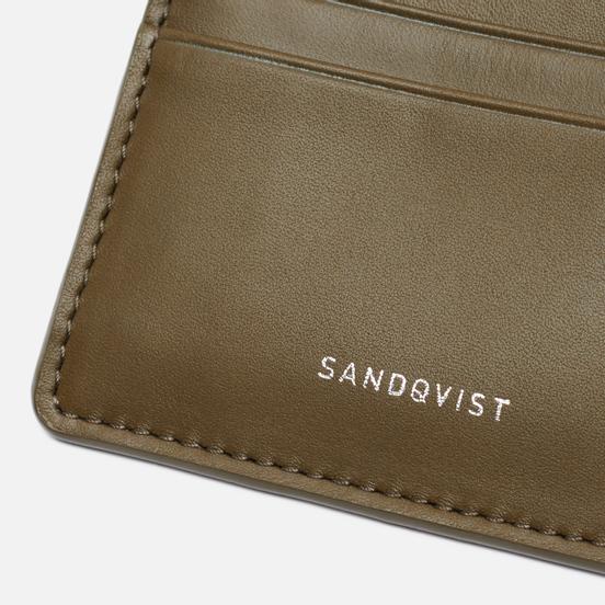 Держатель для карточек Sandqvist Fred Military Olive