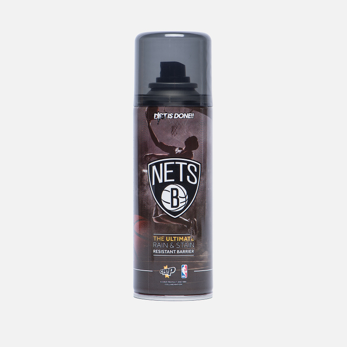 Средство для ухода за обувью Crep Protect x NBA Brooklyn Nets Rain and Stain Resistant 200ml
