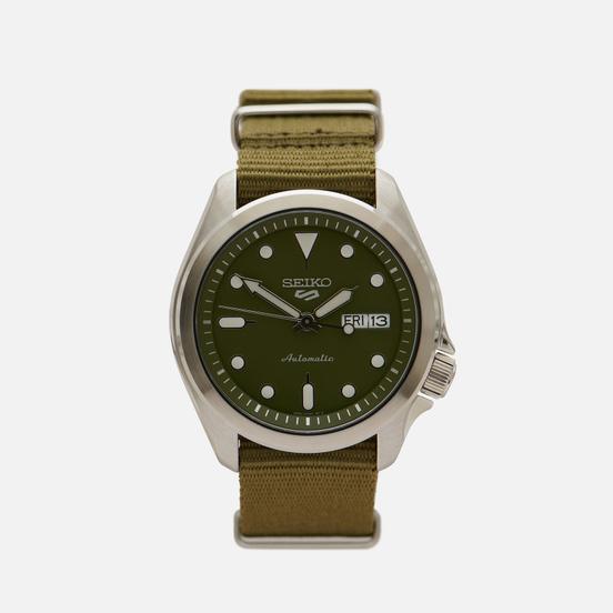Наручные часы Seiko SRPE65K1S Seiko 5 Sports Olive/Silver/Olive