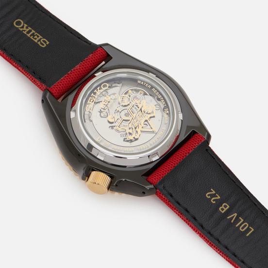Наручные часы Seiko x Street Fighter V Seiko 5 Sports Ken Red/Black/Black