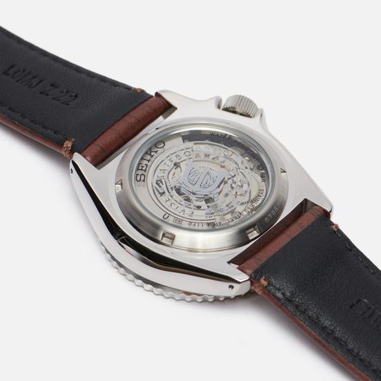 Наручные часы Seiko x Evisen Skateboards SRPF93K1S Seiko 5 Sports Brown/Silver/White