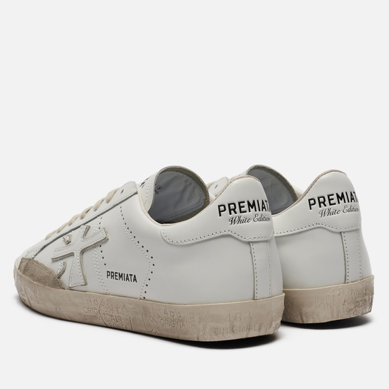 Мужские кроссовки Premiata Steven 5077 White