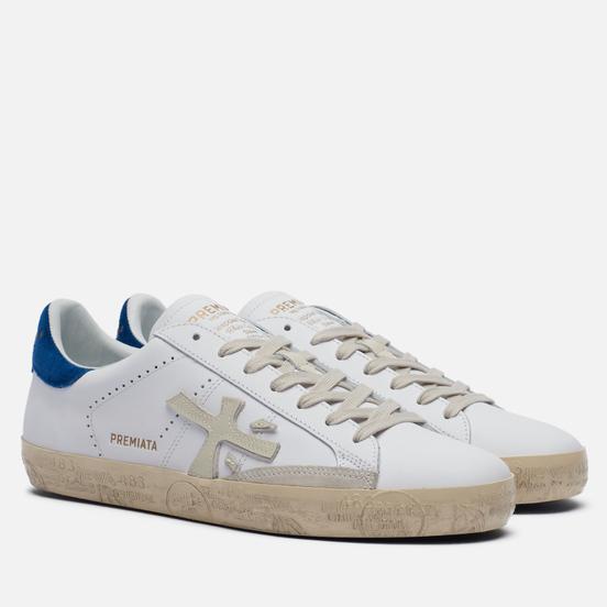 Мужские кроссовки Premiata Steven 5122 White/Blue