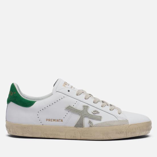 Мужские кроссовки Premiata Steven 5247 White/Green