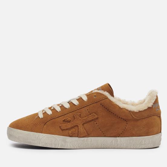 Мужские кроссовки Premiata Steven 5528 Brown
