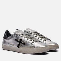 Женские кроссовки Premiata Steven-d 4713 Silver/Black