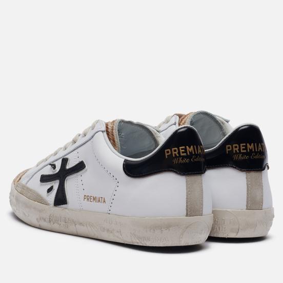 Женские кроссовки Premiata Steven-d 5121 White