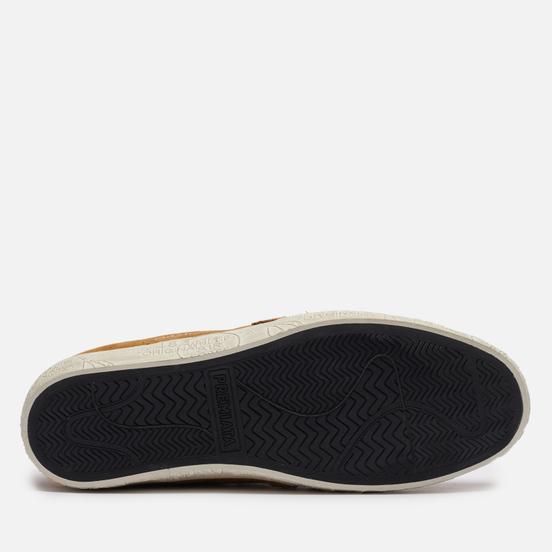 Женские кроссовки Premiata Steven-d 5528 Brown