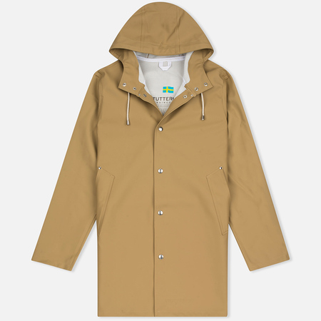 Мужская куртка дождевик Stutterheim Stockholm Sand