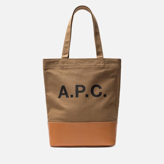 Сумка A.P.C. Axel Clear Khaki