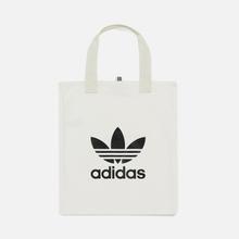 Сумка adidas Originals Trefoil Shopper White фото- 0
