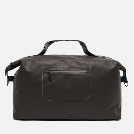 Ally Capellino Arron Canvas Bag Dark Brown