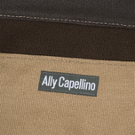 Сумка Ally Capellino Arron Canvas Dark Brown фото- 5