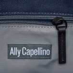 Сумка Ally Capellino Eubank Waxed Navy/Black фото- 5