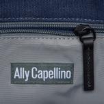 Сумка Ally Capellino Eubank Waxed Navy/Black фото- 5