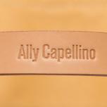 Сумка Ally Capellino Eubank Waxed Yellow/Grey фото- 5