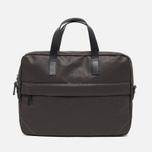 Ally Capellino Robin Canvas Bag Dark Brown photo- 0