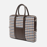 Сумка Aquascutum Lap Top Club Check Brown фото- 1