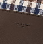 Сумка Aquascutum Lap Top Club Check Brown фото- 5