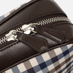Сумка Aquascutum Lap Top Club Check Brown фото- 6