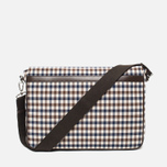 Aquascutum Messenger Bag Club Check Brown photo- 3