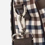 Aquascutum Messenger Bag Club Check Brown photo- 4