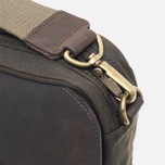 Сумка Barbour Wax Leather Briefcase Olive фото- 8