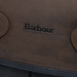 Сумка Barbour Wax Leather Tarras Navy фото- 4