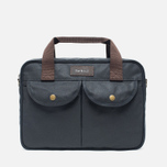 Сумка Barbour Wax Longthorpe Laptop Navy фото- 0