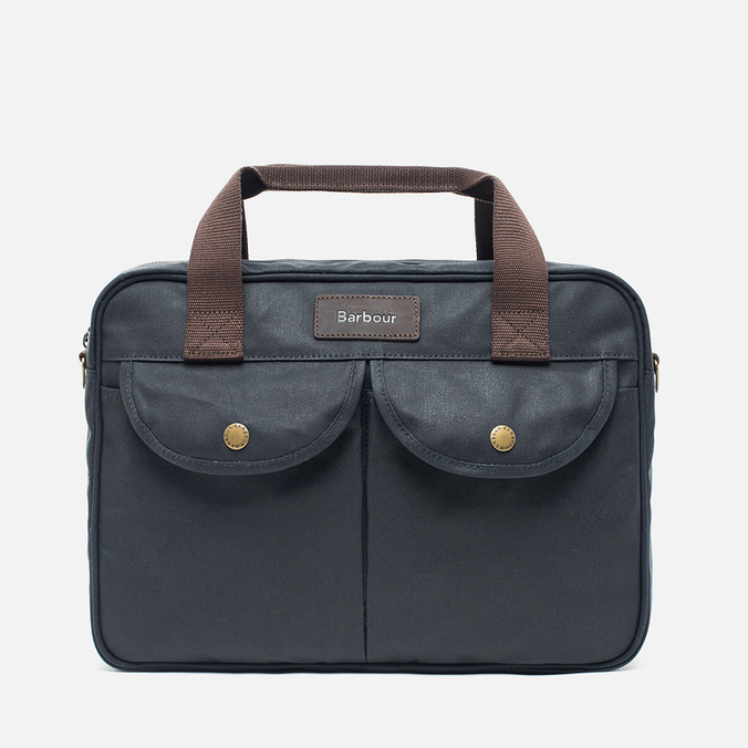 Сумка Barbour Wax Longthorpe Laptop Navy