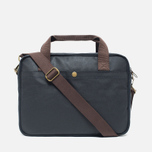 Сумка Barbour Wax Longthorpe Laptop Navy фото- 3