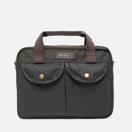 Сумка Barbour Wax Longthorpe Laptop Olive