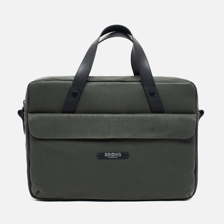 Brooks England Lexington Bag Musk Green