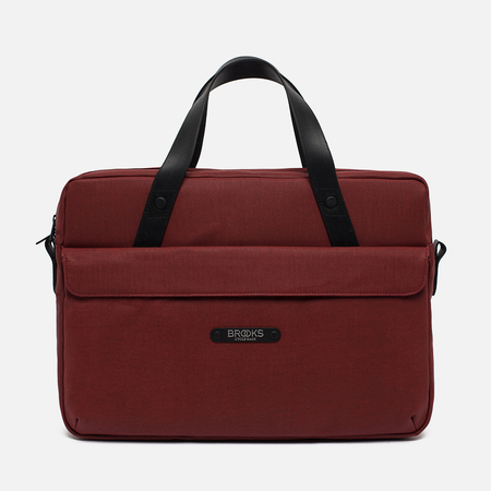 Brooks England Lexington Bag Red