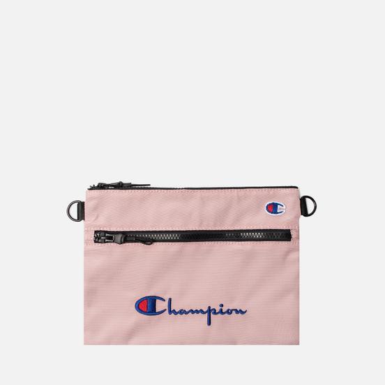 Сумка Champion Reverse Weave Script Logo Small Shoulder Pale Mauve