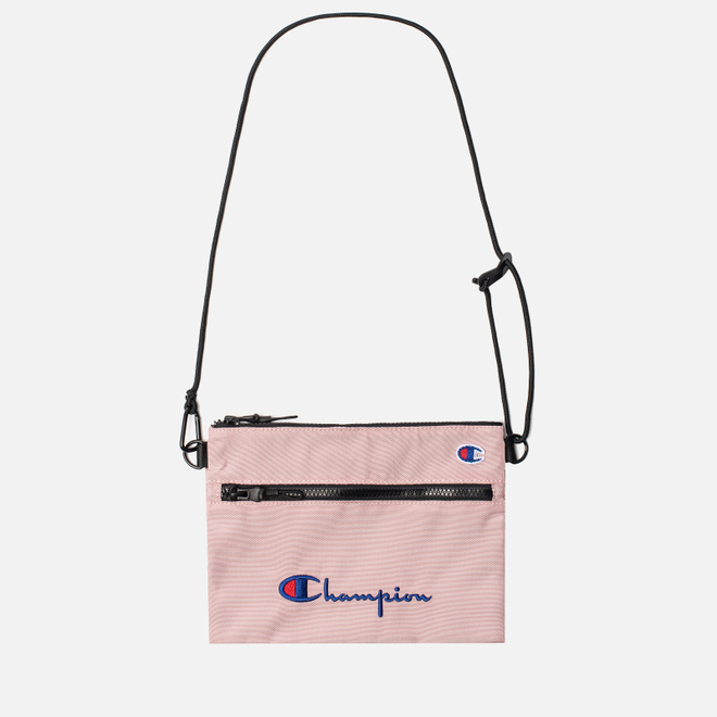 Сумка Champion Reverse Weave Script Logo Small Shoulder Pale Mauve