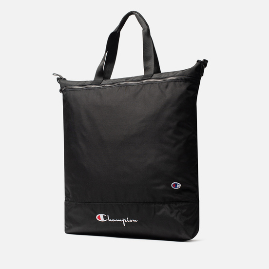 Сумка Champion Reverse Weave Tote Script Logo Black